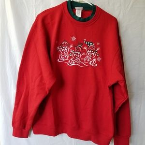 Christmas Sweat shirt Lg